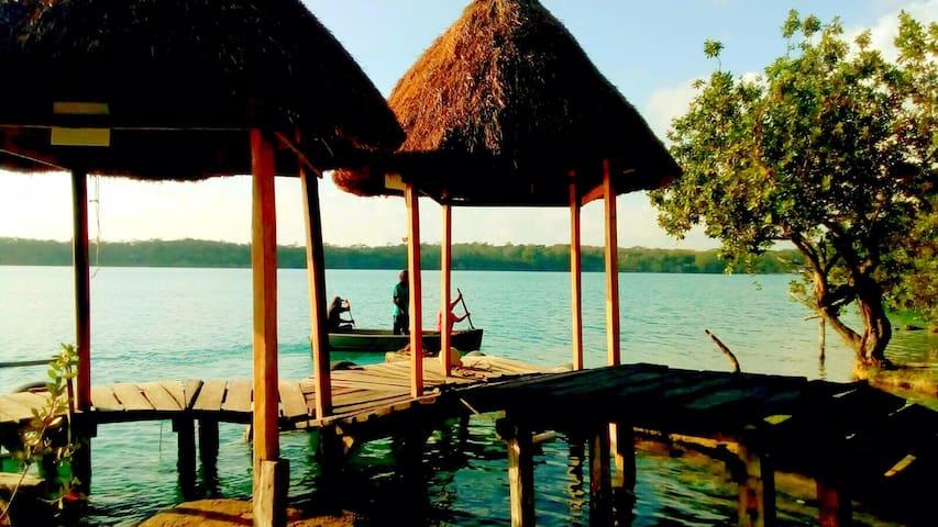 Departamento Ha, en Xulha, Laguna de Bacalar