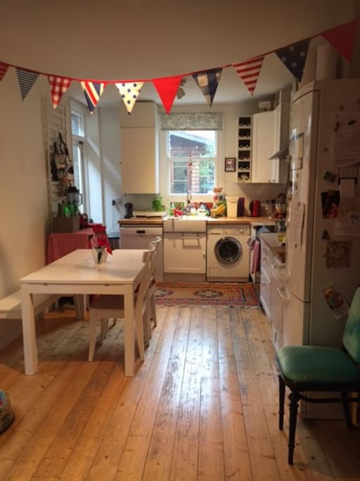 Our lovely homely roomy kitchen, my favourite room!