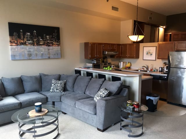 Walk to all RNC activities from trendy 1-BR loft! - Cleveland - Loft
