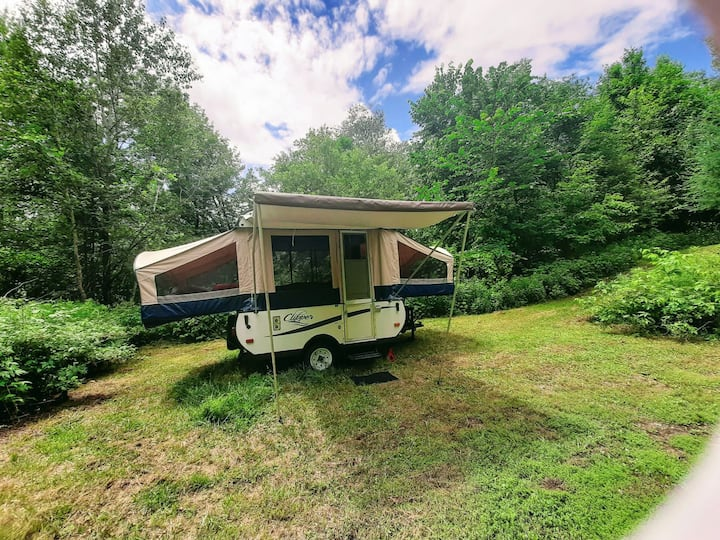 FALL Private camper getaway surrounded by nature