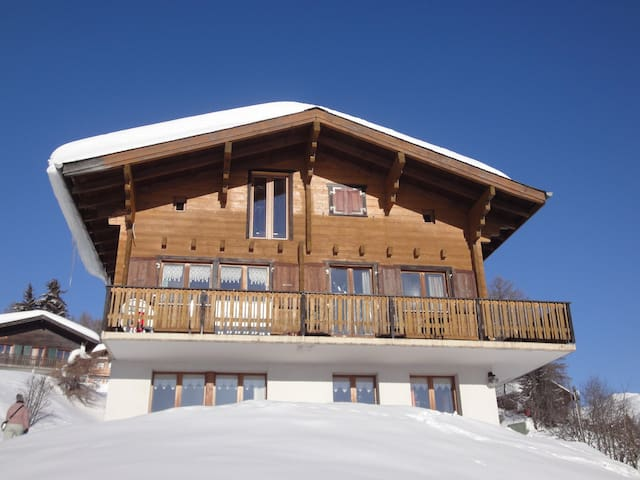 Chalet Stefanino 2, Swiss Alps - Bellwald - Apartment