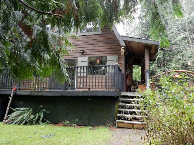 Gabriola cottage & gorgeous garden near ocean