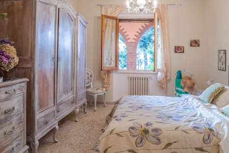 Shabby Chic Home in TUSCANY hills nearby Florence - 雷杰诺 - 公寓
