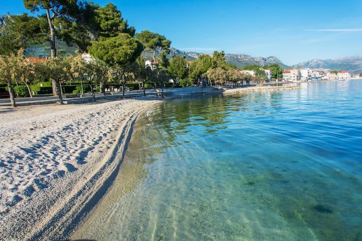 Ruhige Lage, nahe Split/Trogir, WLAN, Parkplatz