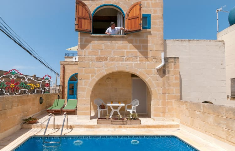 Holiday House in Gozo with private pool