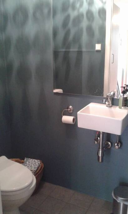 Bathroom, newly renovated.