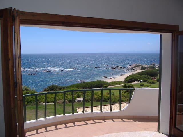 Villa-Heaven .con  on a Private Beach