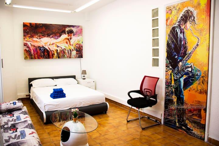 Apartamiento en el centro de Valencia.