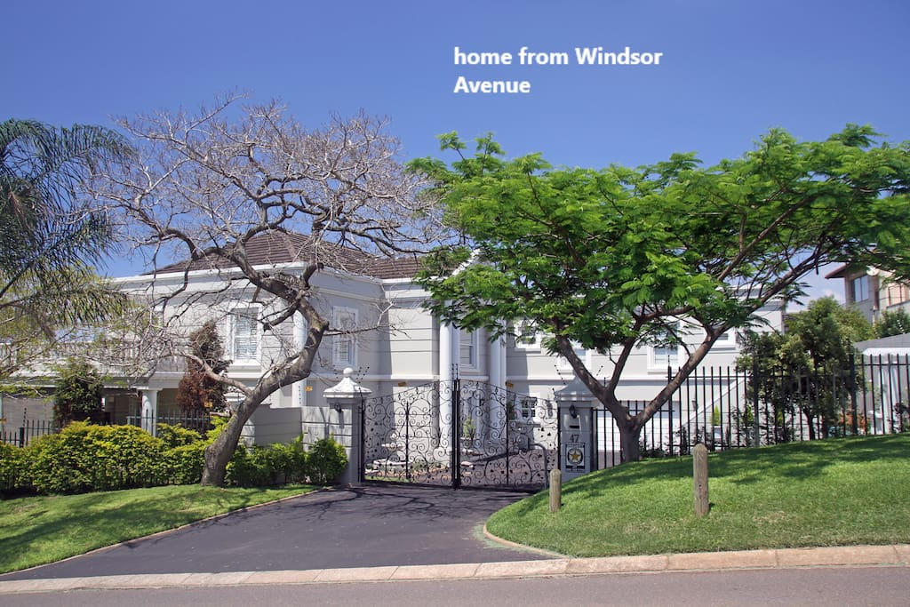 home from Windsor Avenue