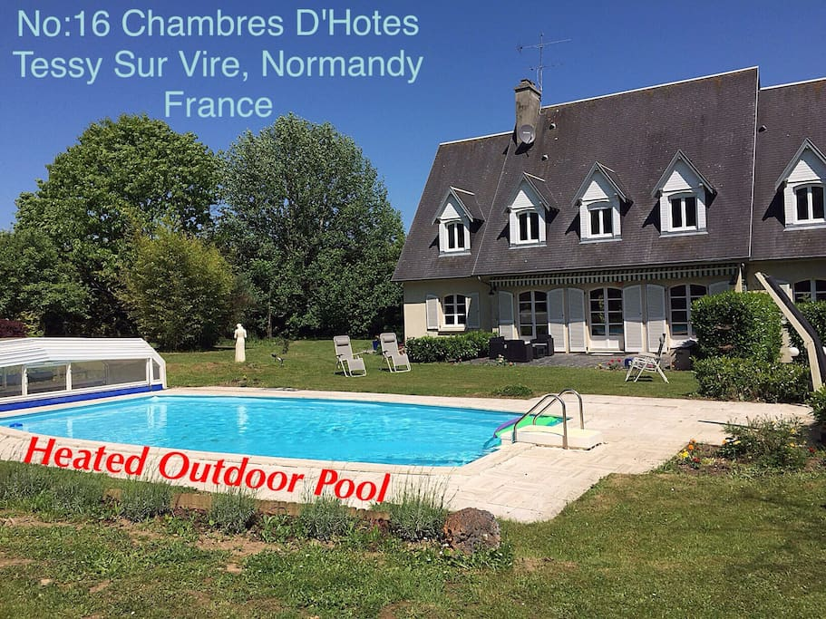No 16 chambres d 39 hotes lavander room boutique hotels for rent in tessy sur vire normandie - Chambre d hote ruoms ...