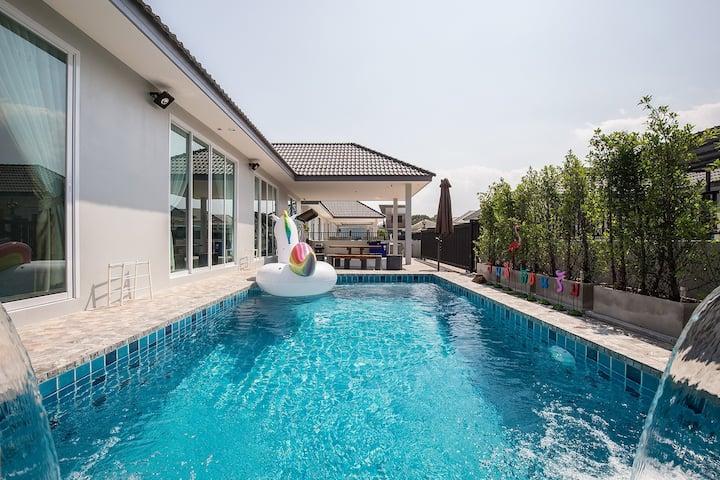 Smart home huahin  บ้านพร้อมสระน้ำส่วนตัว