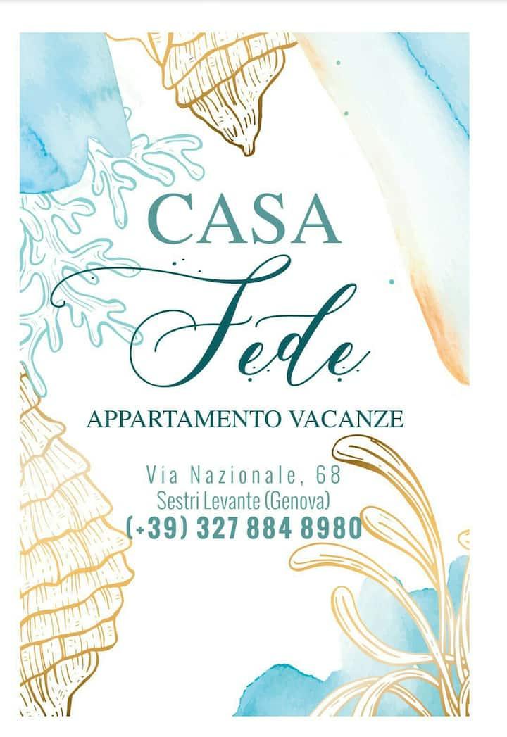 CasaFede appartamento 300m dal mare, centralissimo