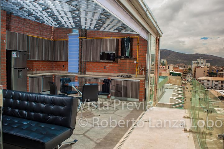 Penthouse (apartment) in the city of Cochabamba