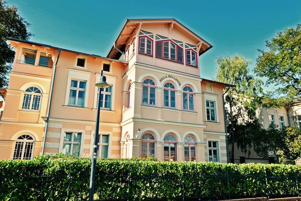 Villa Bellevue auf Usedom