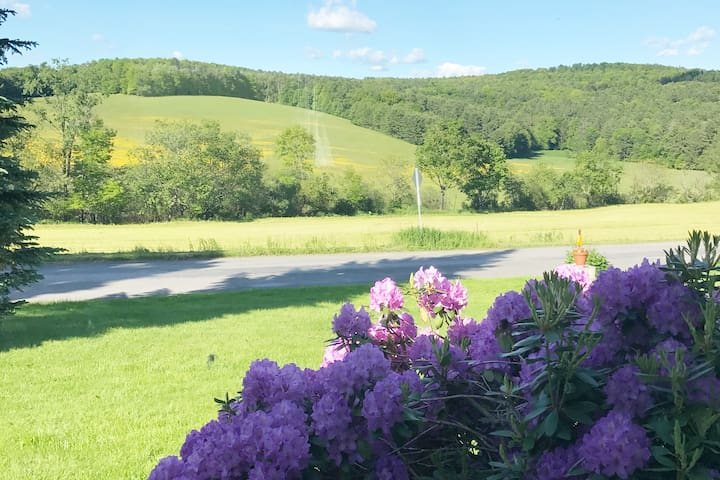 Country Escape close to Oneonta and Cooperstown
