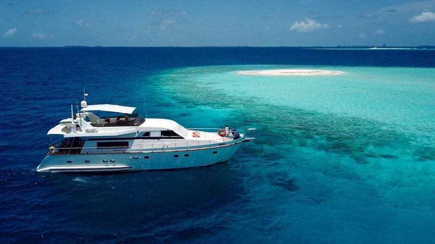 Yacht holidays Maldives