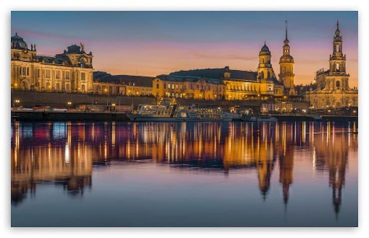 gemütliche Unterkunft für Dresdner City Trip