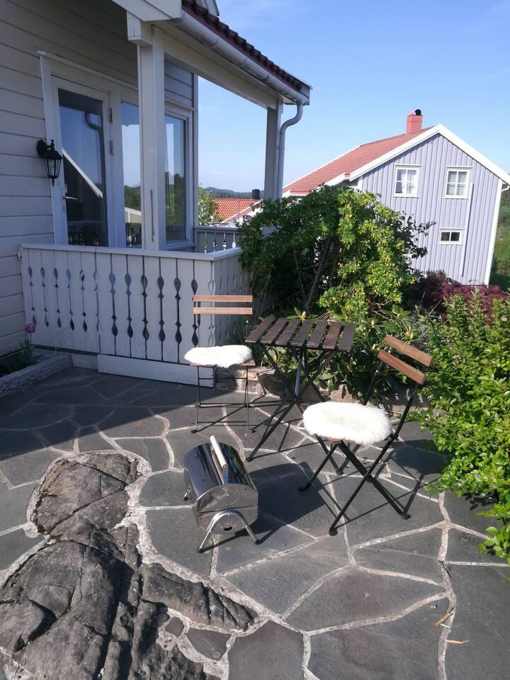 Sommer på Sørlandet * hyggelig hus i Arendal