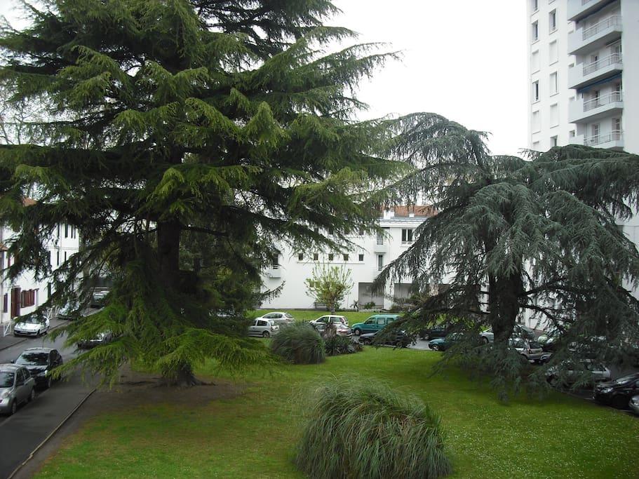 La résidence et stationnement