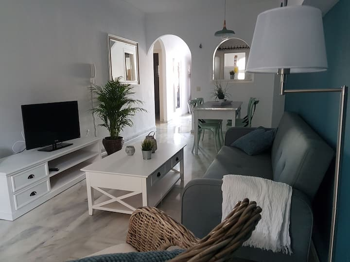 SAND BEACH PUEBLO QUINTA. APART ONE BEDROOM & WIFI
