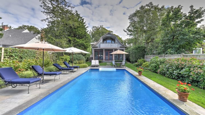 New Listing:  Newly Renovated Home, Pool, Close to Amagansett Village and Beaches