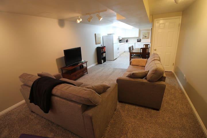 Agreeable Basement Apartment
