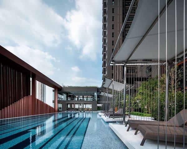 Ekkamai高端公寓/日本区/区域最高楼360度尽享曼谷核心美景
