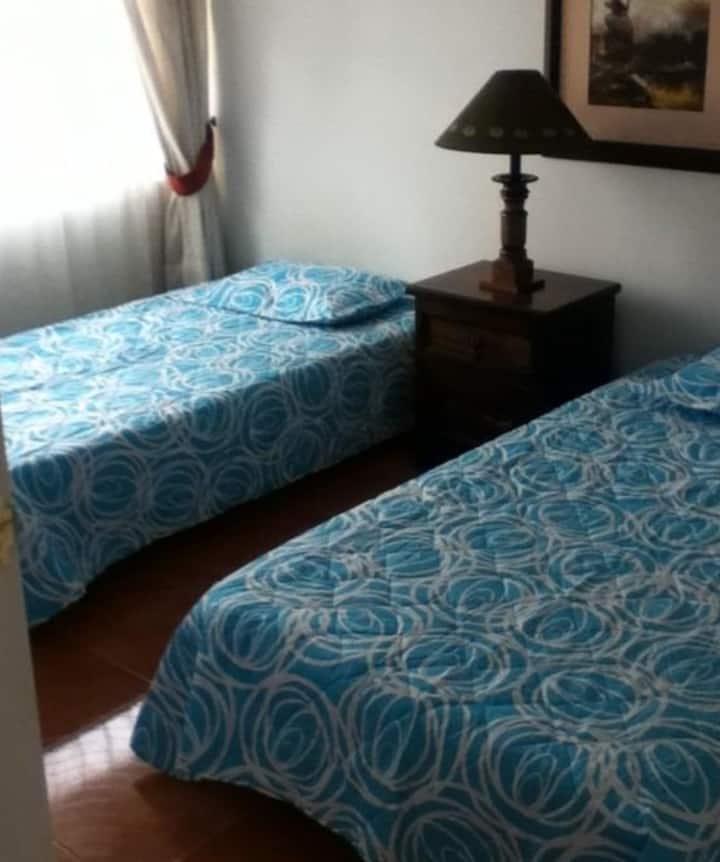 Acogedoras habitaciones (3 habitaciones)