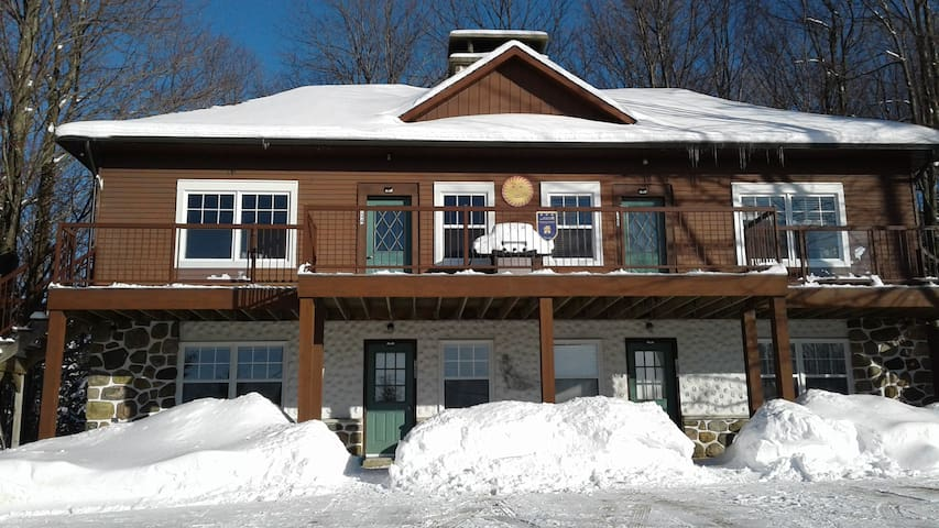 Ski-in/Ski-out Chalet at Mont Sutton - Unit 2
