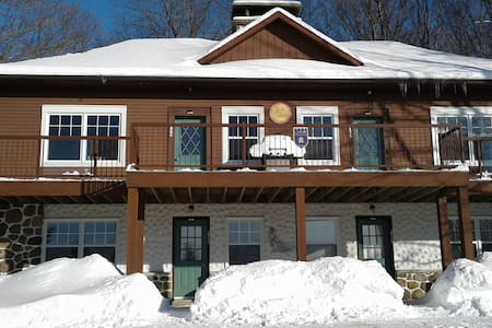 Ski-in/Ski-out Chalet at Mont Sutton - Unit 4