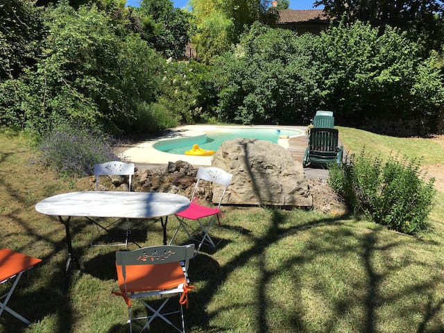 Belle maison Dordogne avec piscine - Saint Marcel du Perigord - Huis