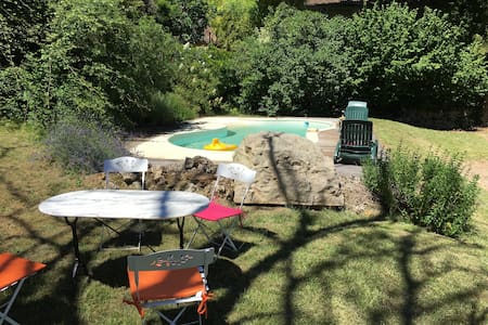 Belle maison Dordogne avec piscine - Saint Marcel du Perigord - Rumah