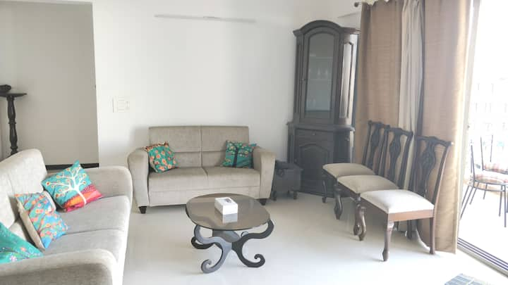 SERENITY HEIGHTS - 2BHK Very Spacious And Homely
