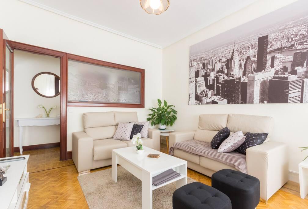 2 habitaci nes en piso compartido deusto apartamentos en for Chimenea fundicion pisos alquiler deusto