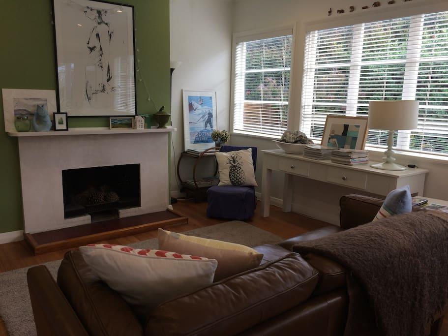 TV sitting area (with Netflix)