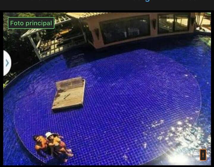 Bangalô Villas do Pratagy suite Luxo com Jacuzzi
