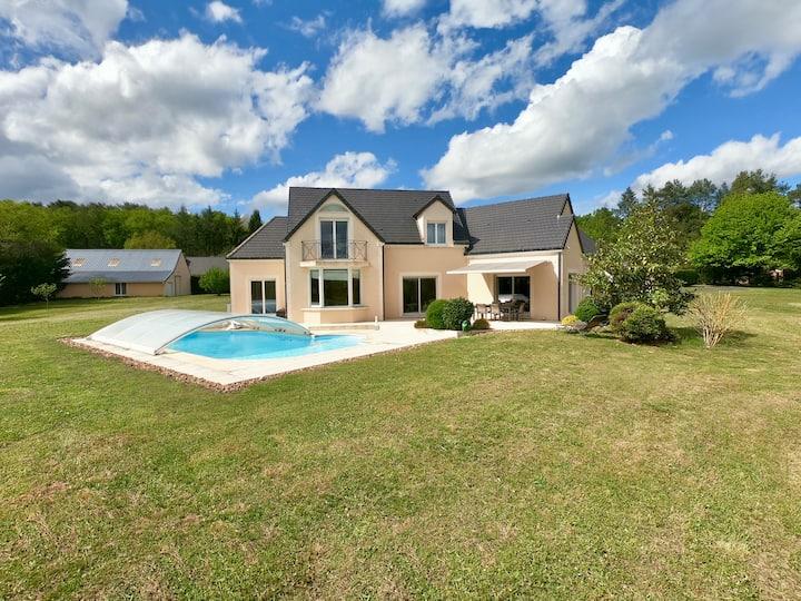 Villa au cœur des Châteaux de la Loire