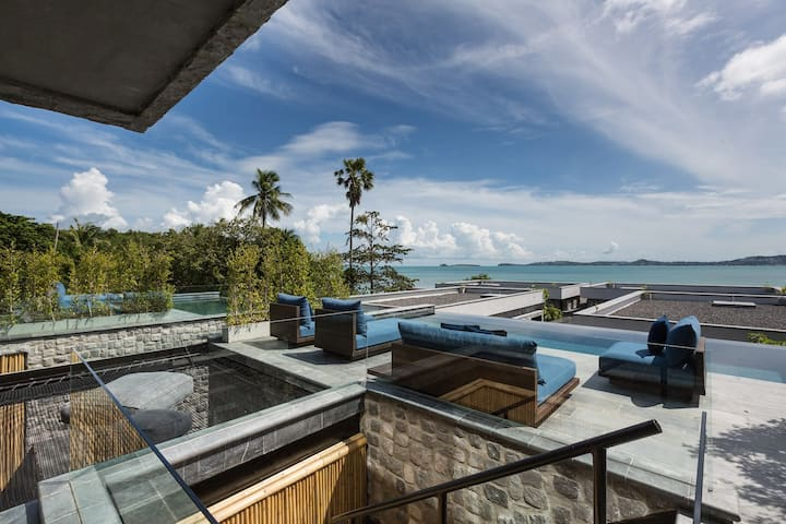 Clay Beach Samui – V3 Duplex lofts – 2Br  Seaview