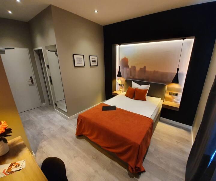JustStay Hotel Düsseldorf/Ratingen Einzelzimmer
