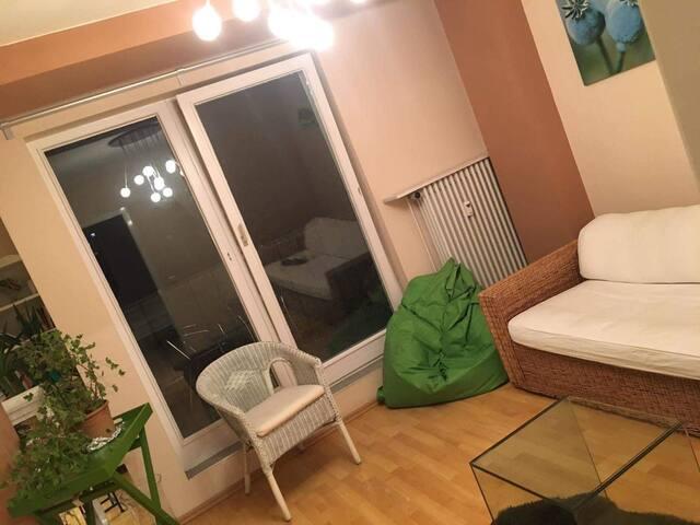 Zentrale und gemütliche zwei Zimmer Wohnung