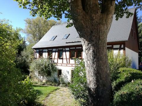 Doppelzimmer mitten im Erzgebirge