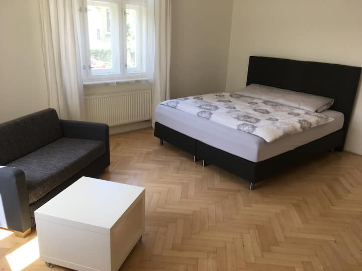 Comfortable apartment with very good beds