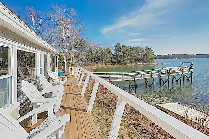 New Listing! Gull Cottage: Waterfront Gem w/ Dock