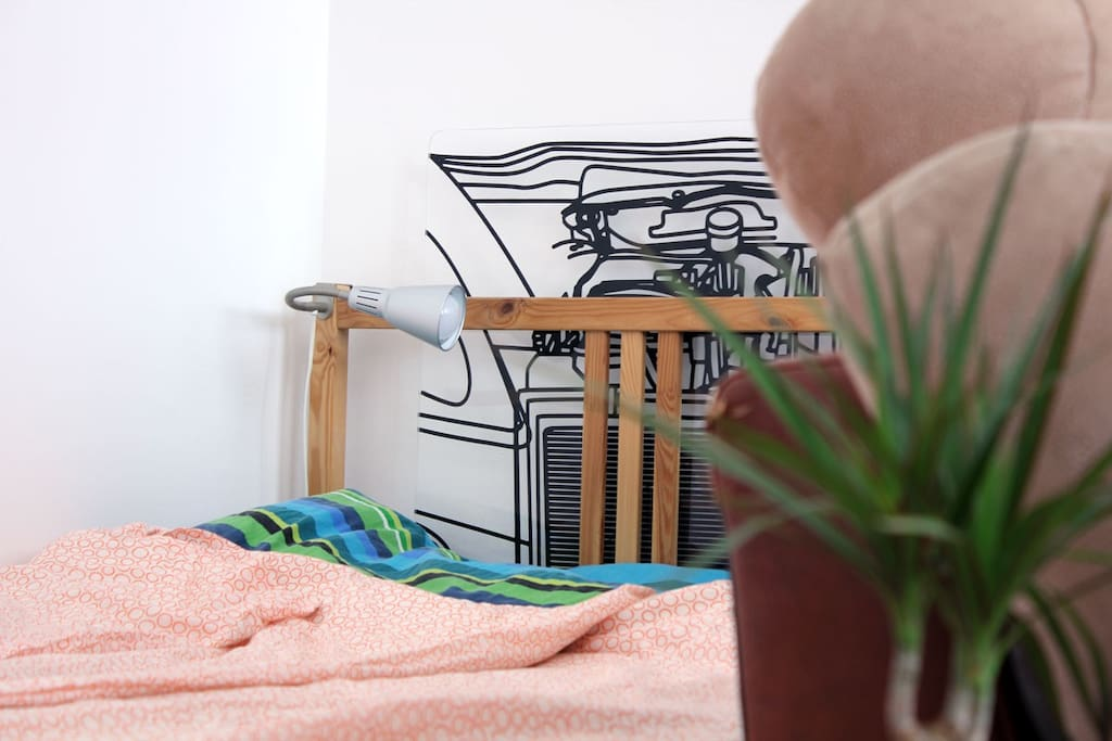 Bed and Plant