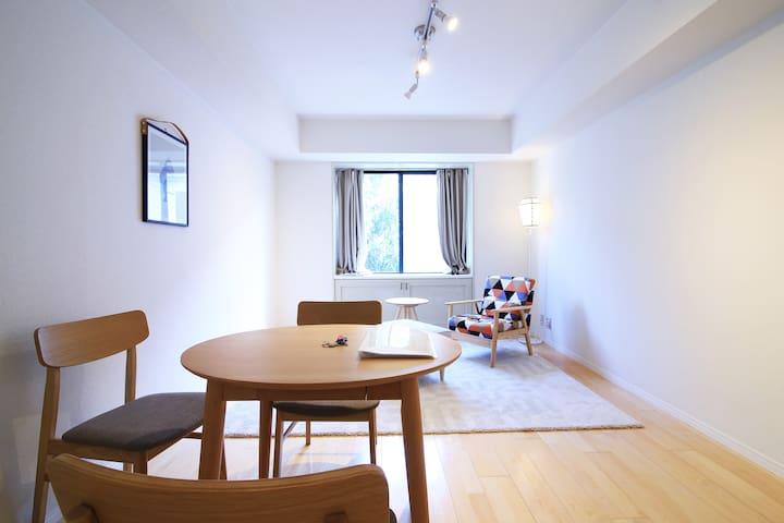 Free Wifi/ Famous Sakura spot! Nakameguro Stn i10 - Meguro-ku - Apartment