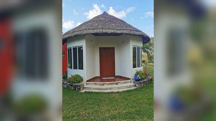 """Near Konhulich  """"Paraíso Selva Maya"""": Mayan Cabain"""