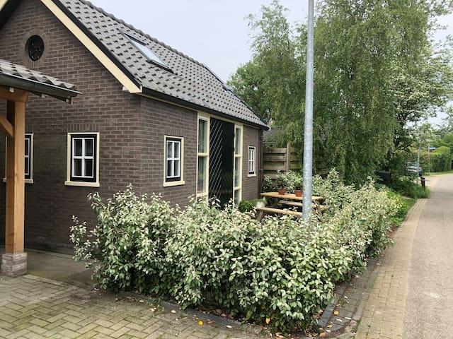 Sfeervol huisje dichtbij Alkmaar en Bergen.