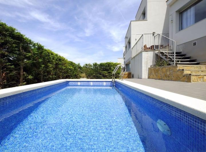 Villa Mont Rodó con piscina y jardín privado - Pet Friendly  by GLOBALSITGES