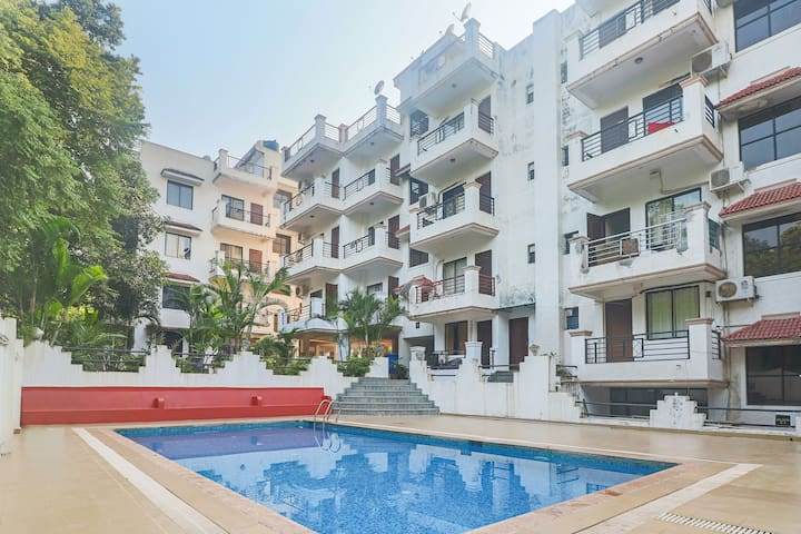 1-bedroom apartment, 1.7 km from Vagator Beach - Vagator - Daire