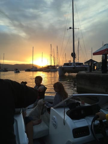 Private Speed Boat Trip on the Knysna Lagoon